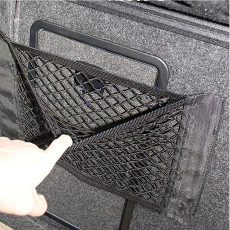 Elastic String Net Mesh Storage Bag Pocket Cage free shipping