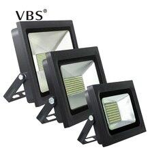 Светодиодный прожектор 200 Вт 150 Вт 100 Вт 60 Вт 30 Вт 15 Вт ultal тонкий светодиодный прожектор 220 В 230 В Водонепроницаемый открытый настенный светильник Проекторы