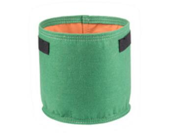 T7- Colors Fang Colors Black Thickening Fabric Pot Plant Pouch Root Container Grow Bag Tools Garden Pots Planters Supplies