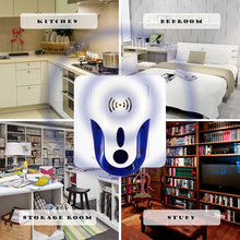 Electronic Ultrasonic pest repeller rodent Insect Rat cockroach Reject Mice Mouse control anti insect mosquito killer reject
