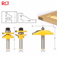 Binoax 1 2 Shank 3 Bit Raised Panel Cabinet Door Router Bit Set