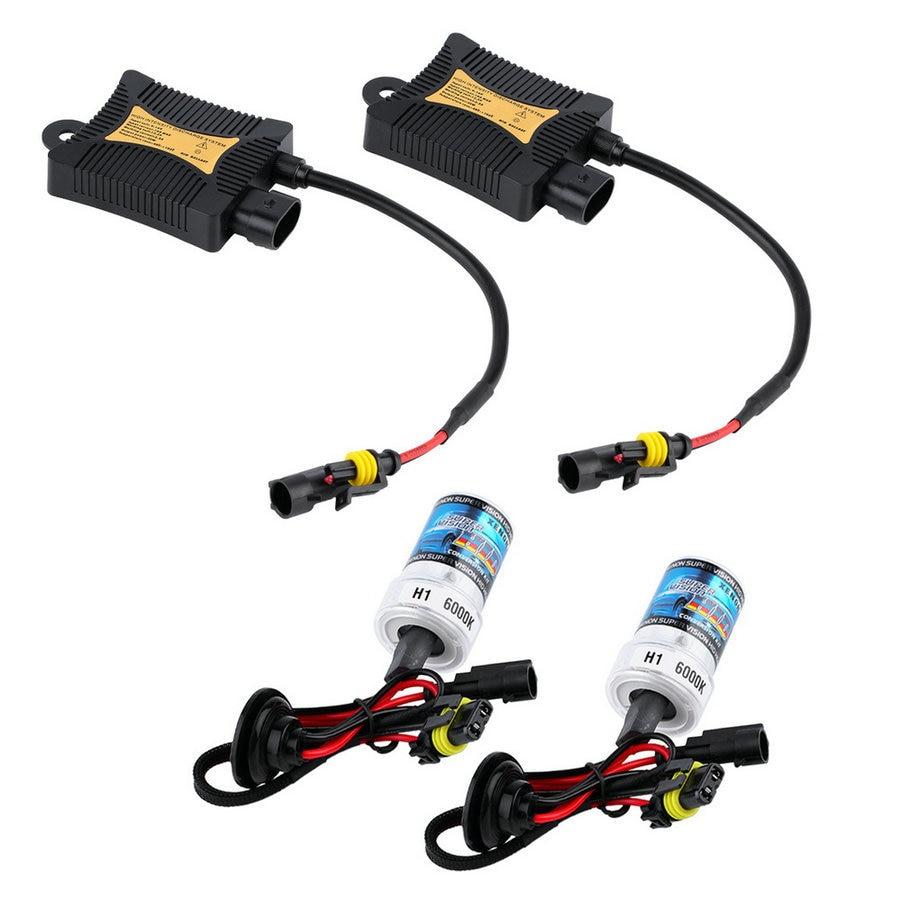 New Single Lamp Digital Xenon HID Kit 35W H1 headlight bulbs 12V Car light 6000K Hot Selling