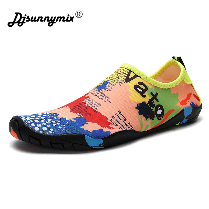DJSUNNYMIX Men Shoes Mesh Comfortable Plus-Size Casual Summer Soft Loafers 35-46