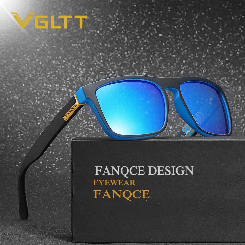VGLTT Polarized Sunglasses Women Square For men Driving Fashion Brand Desinger Mirror Sun Glasses Male Female Sport Outdoor