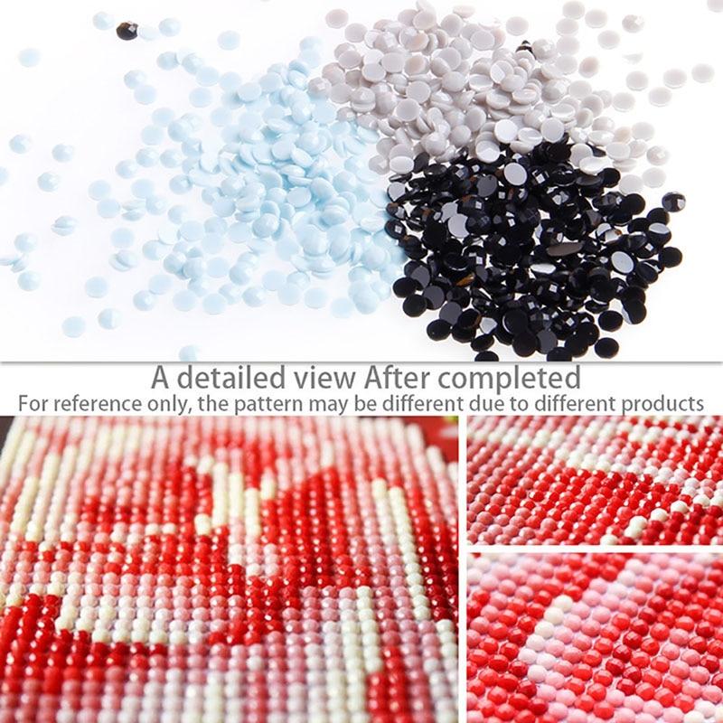 1PC Fantasy Flowers DIY 5D Diamond Painting Decoracion Cross Stitch Elf On The Shelf Diamant Kit Diy New Drop ship