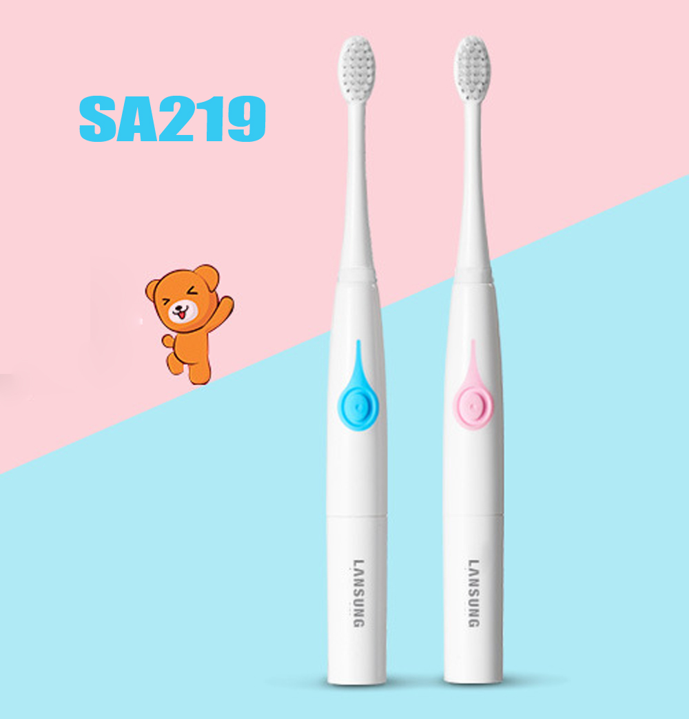 Electric Toothbrush Children Child Baby Kids Waterproof Soft Tooth Brush For Kids Automatic Timer Teeth Brush Oral Care image