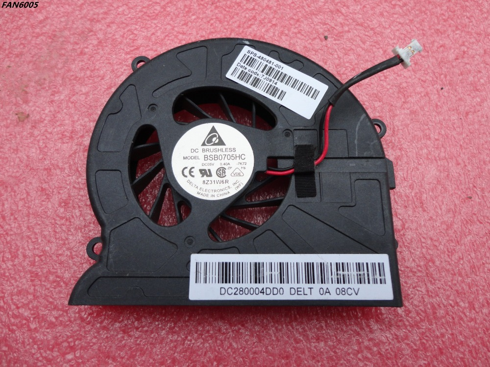 New CPU Cooling Fan for HP Pavilion dv7-1000 dv7-1100 dv7-1200 480481-001