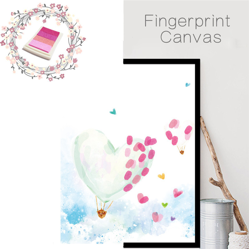 Popular fingerprint wall art buy cheap fingerprint wall for Balloon decoration book