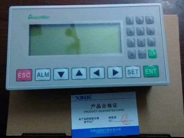 OP325-A-S:HMI Operate Panel OP325-A-S 3.7 192x64 Adjustable brightness Yellow Green STN Text Panel with OP Cable,FAST SHIPPING