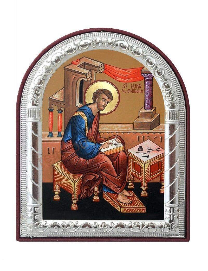 Puede aduana San Lucas el evangelista cuadros Marcos plata icono ...