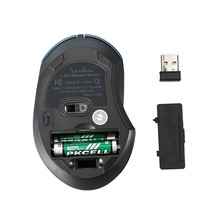 Silent Wireless Ergonomic Mouse