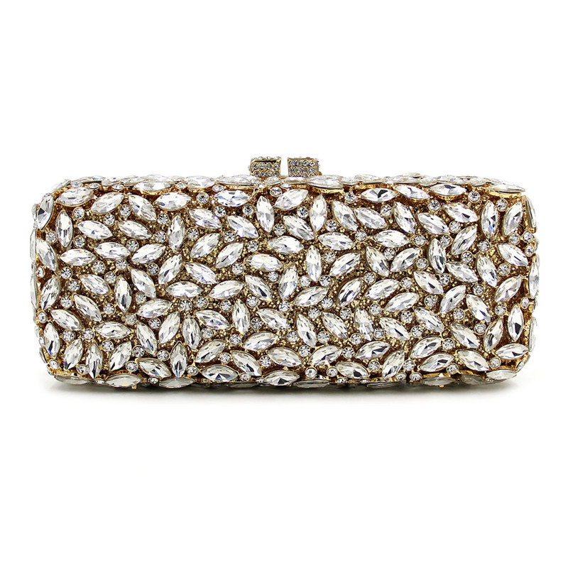 Best Price Diamond Evening bag High Full Rhinestone Dinner Bag/Clutch Purse/Bridal Wedding Bag Handbag woll diamond titan best 1724tb