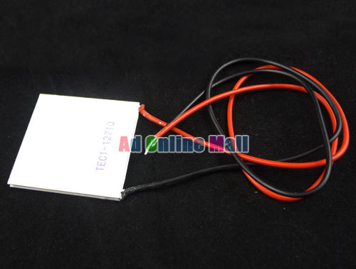 5PCS LOT TEC1 12710 120W High Power Semiconductor Refrigeration Tablets Cooler Peltier Plate