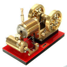 SH-02 Stirling Engine Model Educational Discovery Toy Kits Educational Toy Gift For Children Kits stirling engine micro engine external combustion engine metal model m16 01 02 d