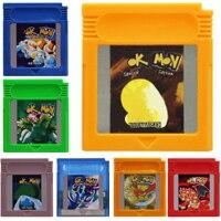 Cartouche de jeu vidéo 16 bits Console de jeu carte série pPoke la première Collection
