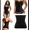 Waist Trainer 100% Latex Waist Cincher Corset Minceur Slimming Body Shaper Steel Bone XXS Waist Corsets