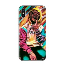 Phone Case Lil Pump Coque Cover for iPhone 6 6s 7 8 Plus lil xan Xxxtentacion Soft TPU Cover for iPhone X 5s se silicone Cover