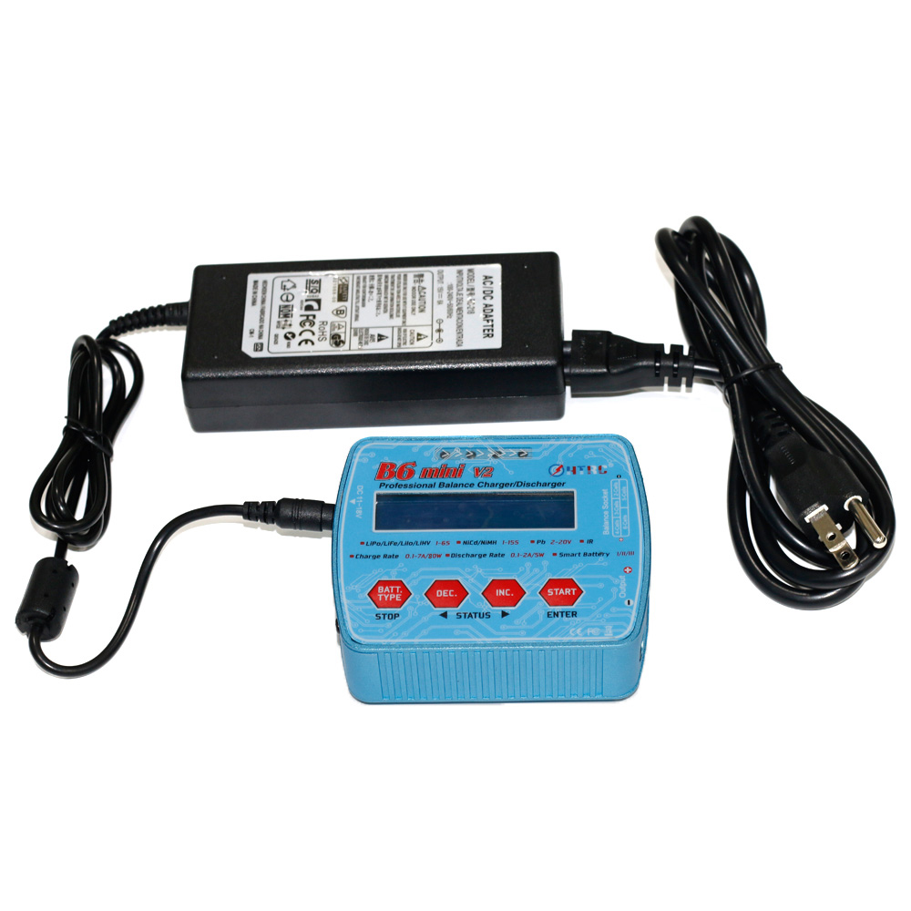 iMAX B6 Mini V2 80W 7A Professional Digital RC Model Balance Charger Discharger for Lipo Lihv LiIon LiFe NiCd NiMH Battery HTRC Karachi