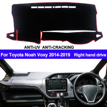 Накладка на приборную панель автомобиля, коврик для Toyota Noah Voxy, автомобильный солнцезащитный коврик, коврик для правой руки