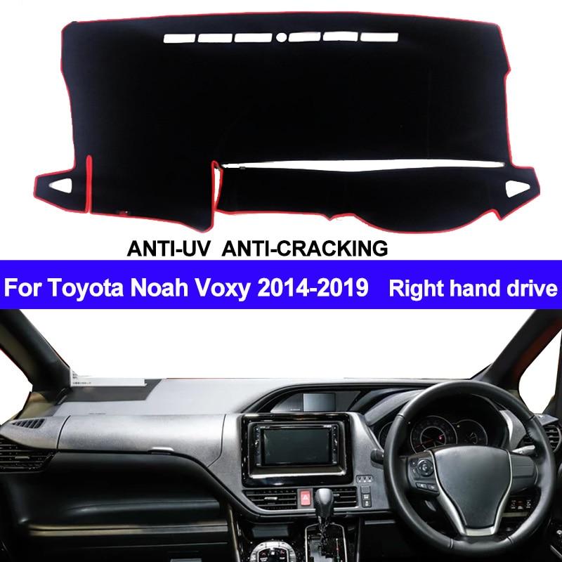 Car Dashboard Cover Dash Mat For Toyota Noah Voxy 2014 2015 2016 2017 2018 2019 Auto Sun Shade Mat Pad Carpet Right Hand Drive