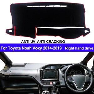 Image 1 - Cubierta para salpicadero de coche tapete de salpicadero para Toyota Noah Voxy, 2014, 2015, 2016, 2017, 2018, 2019
