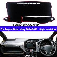 รถฝาครอบแดชบอร์ดDash MatสำหรับToyota Noah Voxy 2014 2015 2016 2017 2018 2019 Auto Sun Shade Mat Padพรมขวามือ
