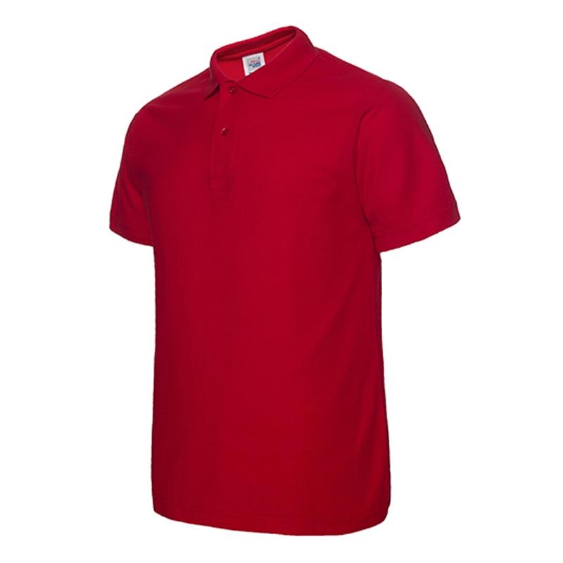 Polo   Shirt Men Classic   Polo   Shirt Men's   Polo   Male Summer Shirt Casual Short Sleeved 3Xl Solid ropa de hombre 2019