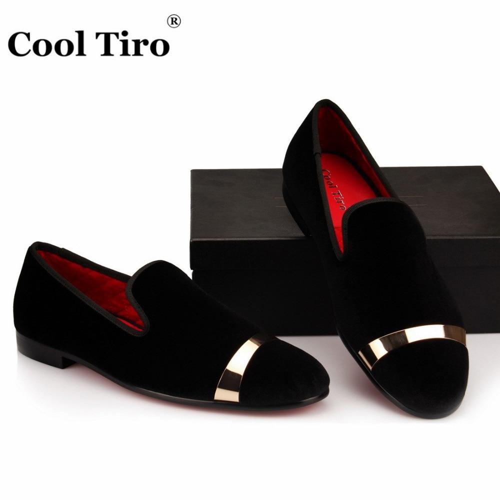 Respiráveis Moda Sapatos Legal Preto Veludo Fumar Vermelho Homens Metal Tiro Casamento Ferro Chinelo Apartamentos branco De Folha Casuais wwAOHCxqt
