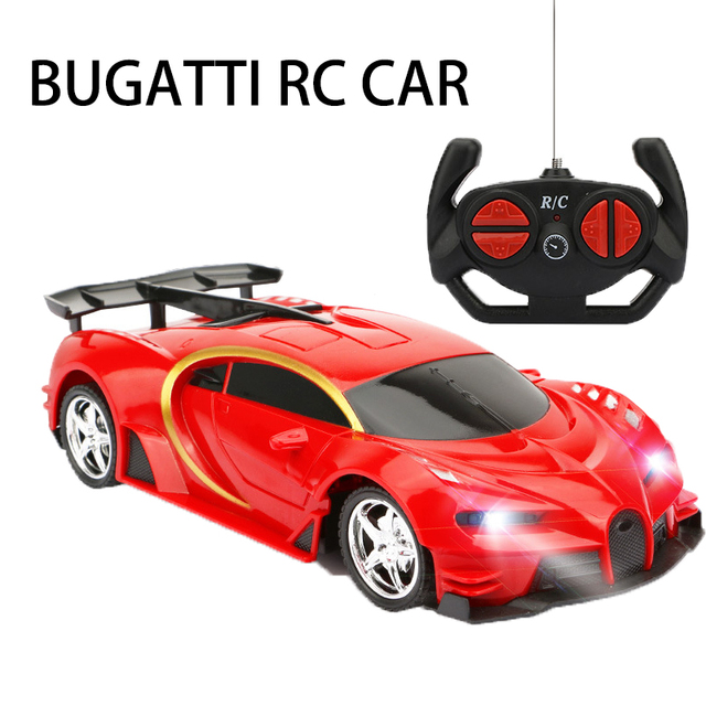 RC Cars 1:18 Sports car Bugatti RC Racing Car   2.4GHz 4W Steering Servo High Speed RC Racing Cars Kids Monster Trucks Best gift