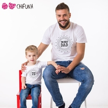 Short Sleeve T-Shirt Father Kid Matching Outfit