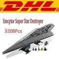 2016 Новый ЛЕПИН 05028 Star Wars Execytor Super Star Destroyer Модель Строительство Комплект Блок Кирпич Игрушка в Подарок Совместимость Подарок
