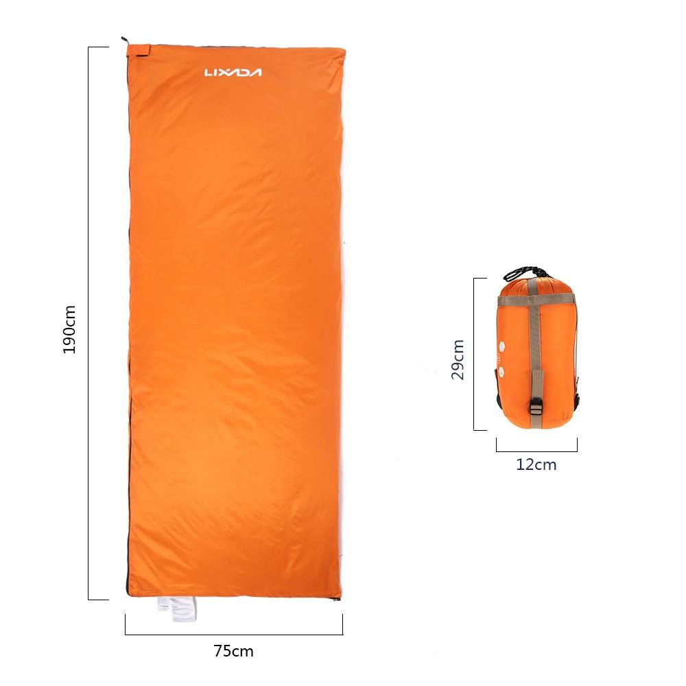 acampamento saco de dormir viagem caminhadas ultra-leve