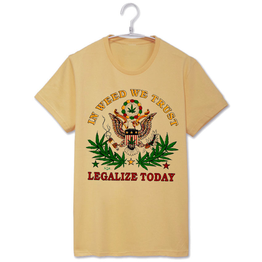 420 legalize today jah rasta bless Bob Marley vintage fashion breathable  printing t shirts cee3bf58241