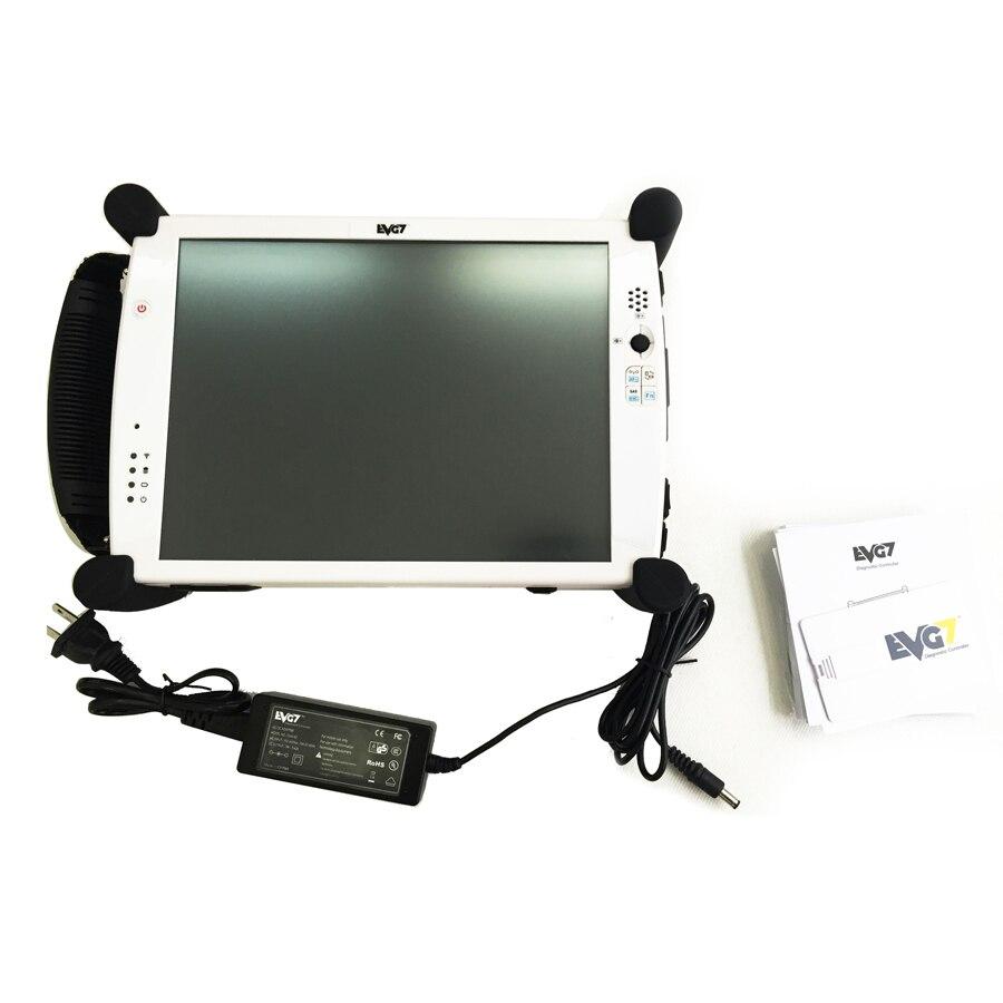 EVG7 DL46/HDD500GB/DDR4GB диагностический контроллер планшетный ПК EVG7 диагностический контроллер - Цвет: White