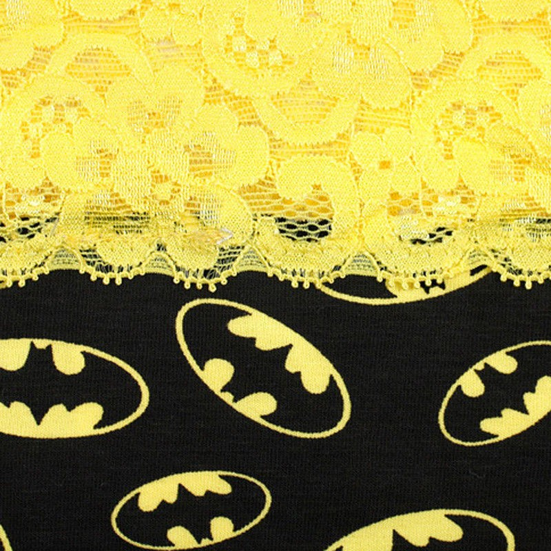 New2 Styles Sexy Womens Lace Batman Underwear Panties Boxer Briefs
