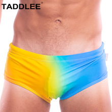 Taddlee Brand Sexy Mens Swimwear Swimsuits Swim Boxer Briefs Bikini Men Bathing Suits Penis Pouch Gay Surf Board Trunk Low Rise