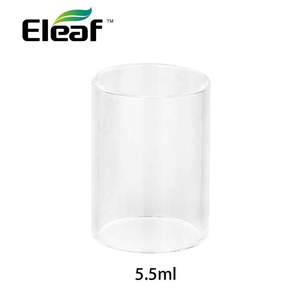 Original Eleaf ELLO Mini XL Glasrohr 5,5 ml Kapazität Reine Ersatz rohr für ELLO Mini XL Tank Zerstäuber E Cig Ersatzteil rohr