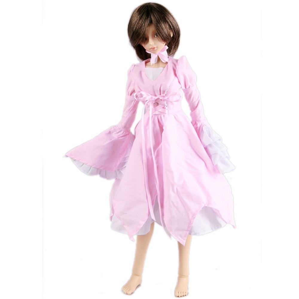 [wamami] 125# Pink Clothes Dress MSD DOD 1/4 BJD Dollfie аксессуары для кукол wamami] 77 msd dod 1 4 bjd dollfie 2108673