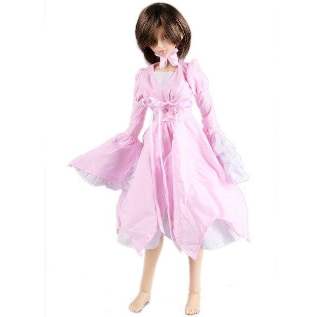 [wamami] 125# Pink Clothes Dress MSD DOD 1/4 BJD Dollfie