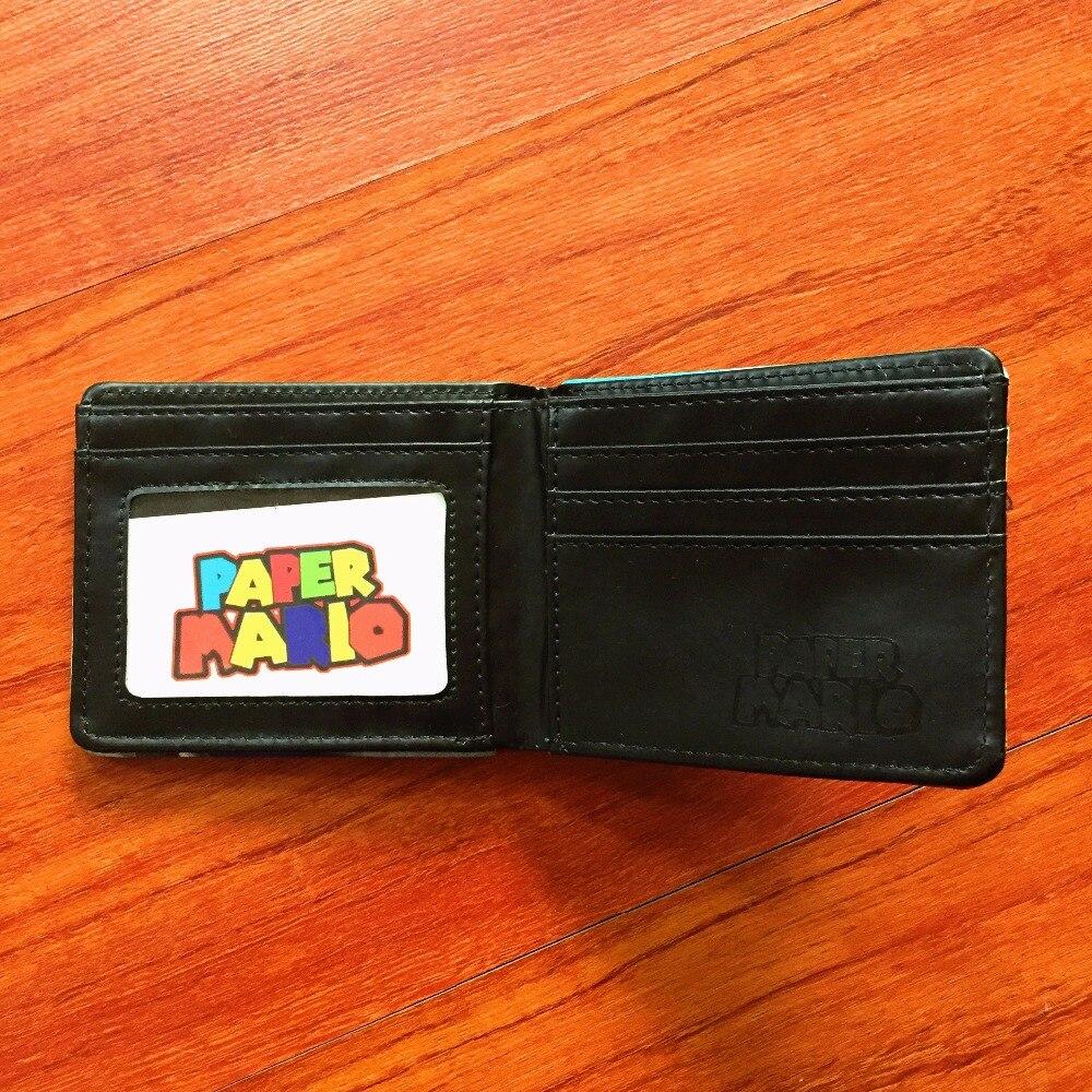 Мультфильм Супер Марио кошелек Для женщин Для мужчин Повседневное высокого качества короткие бумажник тонкий кошелек держатель для карт п...