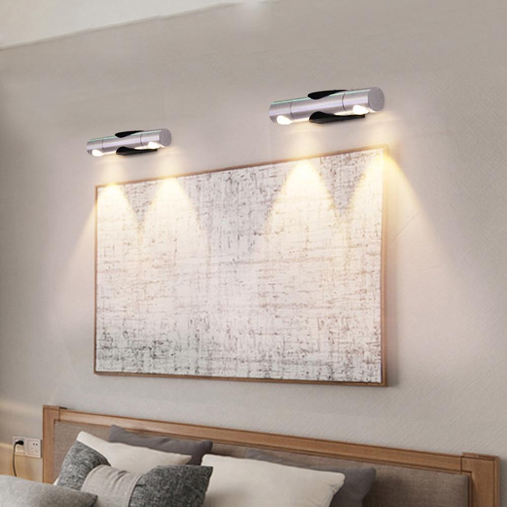 2W LED-wandarmatuur Spiegel Voorkant Draaibaar licht Lamp Hoog - Binnenverlichting