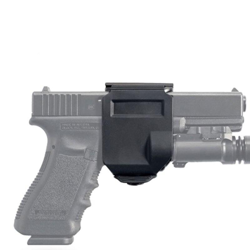 Tactical Rotating 360 MOLLE Holster Para GLOCK Glock Clip de la Mano Derecha 17
