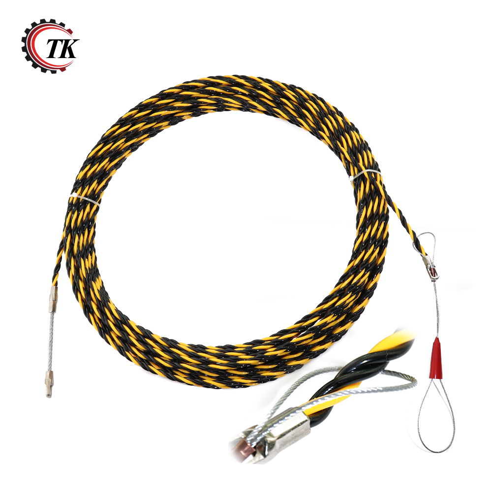 65mm20m Nylon Fish Tape Electric Cable Push Puller Conduit Ducting Wiring Rodder Wire Guide Extension Cord In Wires Cables From