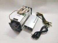 ใช้ AntMiner S9 13.5 T BITMAIN APW3 ++ 1600 W Asic Bitecoin BTC BCH Miner ดีกว่า whatsMiner M3