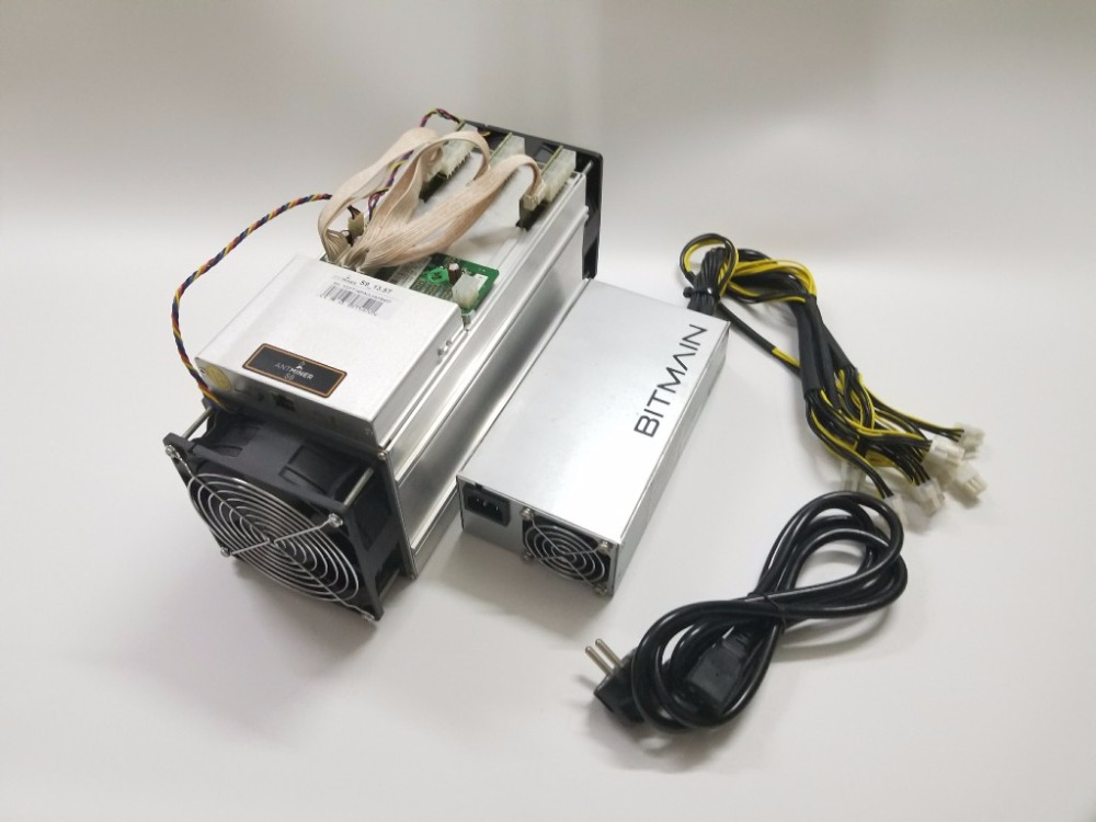 Used AntMiner S9 13.5T With BITMAIN APW3++ 1600W Power Supply Asic Bitecoin BTC BCH Miner Better Than WhatsMiner M3