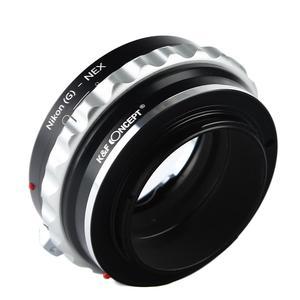 Image 4 - K & F adaptador con tapa de lente para Nikon G lente de montaje a Sony E NEX a5000 A7II A7R a6400 a73 a7R3