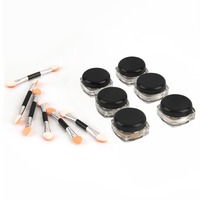 New 6pcs Mirror Powder Pigment Nail Glitter Nail Art Chrome Decoration