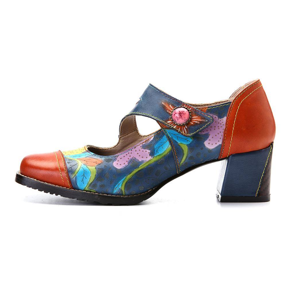 Europe and the United States cross-border new handmade leather womens fashion shoes Mary Jane shoes sandalsEurope and the United States cross-border new handmade leather womens fashion shoes Mary Jane shoes sandals