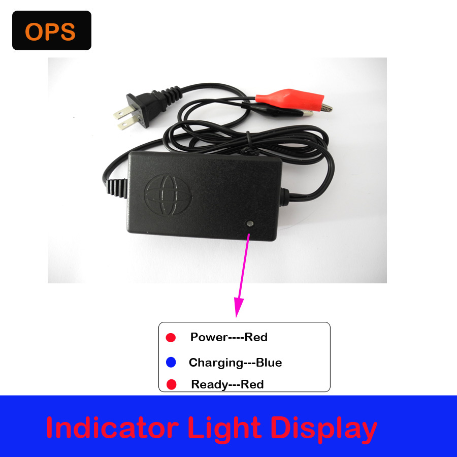 OPS For 6V7AH-20AH battery Best Price AC 100-240V to For DC 6V 2A 2000mA Switching Power Supply Adapter Charger US Plug Volt