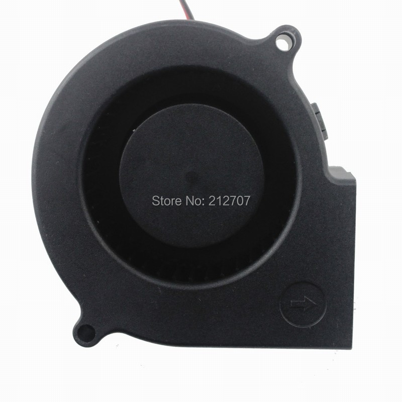Gdstime DC 24V 2Pin 7CM 75mm X 30MM 70MM Brushless Cooling Blower Fan 24 Volt in Fans Cooling from Computer Office